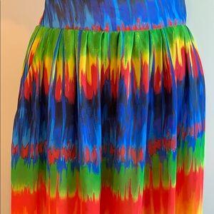 Midnight Velvet Skirts - Midnight Velvet Maxi Skirt SZ 18 Tie Dye